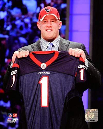 "J.J. Watt Houston Texans Draft Photo (Size: 16"" x 20"")"