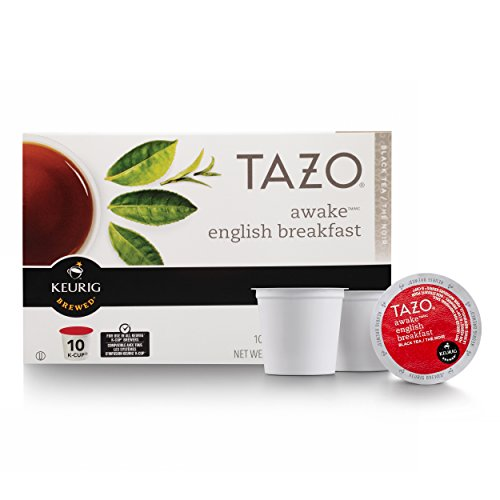 Tazo Awake English Breakfast Tea, K-Cup for Keurig Brewers, 60 count