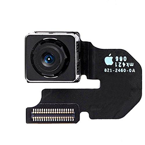 Johncase New OEM Original 8MP Autofocus Main Rear Back Camera Module Flex Cable Replacement Parts for Iphone 6 4.7