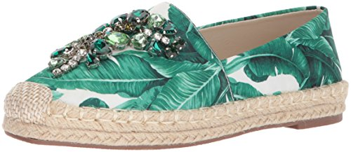 Chinese Laundry Flat - Chinese Laundry Women's Hayden Ballet Flat, Green Floral, 7 M US