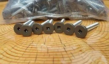 Dark Brown #9 x 1 Self Sealing Metal Roofing /& Siding a Bag of 100 Screws Metal to Wood Screw with EPDM Rubber Seal