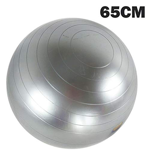 65cm Grey Twinlight Ball Fitness Yoga Balls Pilates Fitness Gym Balance Fitball Exercise Workout Ball 45 55 65 75 85CM with Size Vedio