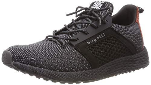 Les Hommes Bugatti 341623626900 Glisser Sur Sneaker, Noir (noir 1000)