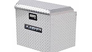 Lund 6134T 21-Inch Aluminum Trailer Tongue Truck Box, Diamond Plated, Silver