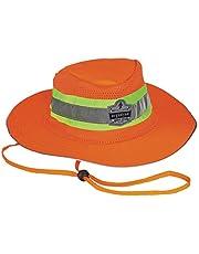 Ergodyne GloWear 8935 High Visibility Ranger Hat, Large/X-Large, Orange
