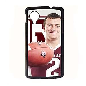 Generic Love Phone Cases Print With Johnny Manziel For Lg Google Nexus 5 Choose Design 1