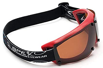 Amazon.com: Spex Anfibio Eyewear. Rojo con All Weather ...