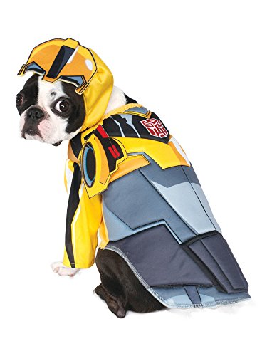 Rubie's Transformers Bumble Bee Deluxe Pet Costume, Small