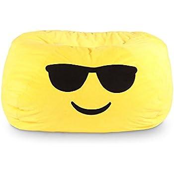 GoMoji Emoji Cool Bean Bag Chair