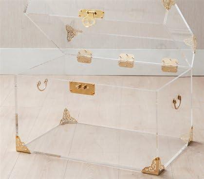 Ciao Bella Acrylic Trunk – Rustic Brass