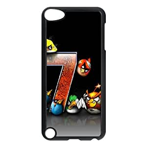 iPod Touch 5 Case Black Angry Bird Game ISU505960