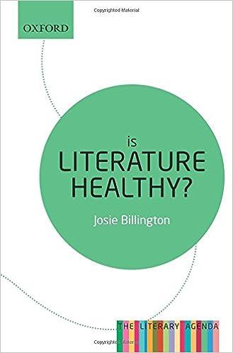 Amazon.com: Is Literature Healthy?: The Literary Agenda ...