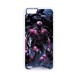Carnage iPhone 6 Plus 5.5 Inch Cell Phone Case White yyfabc-595517