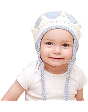 Baby and Toddler Boys Prince Beanie Hat