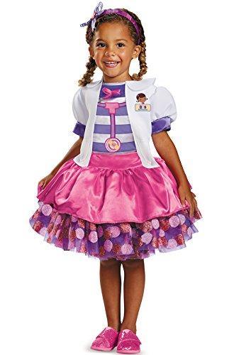 Disney Doc Mcstuffins Tutu Deluxe Toddler Costume, Small/2T]()