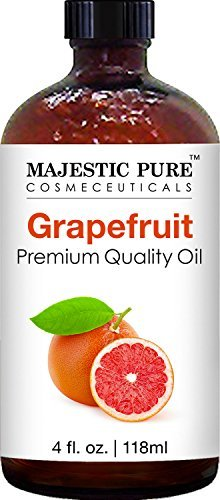 Majestic Pure Grapefruit Oil, Premium Quality, Therapeutic Grade, 4 fl oz