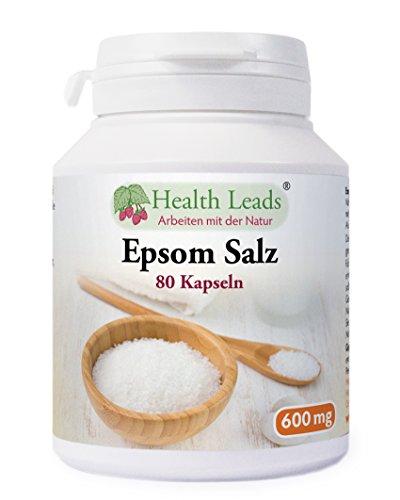 Epsom Salz 600mg x 80 kapseln