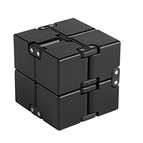 Infinity Cube Fidget Toy Hand Killing Time Fidget Spinner Prime Infinite Cube For ADD, ADHD, Anxiety, and Autism Adult and Children