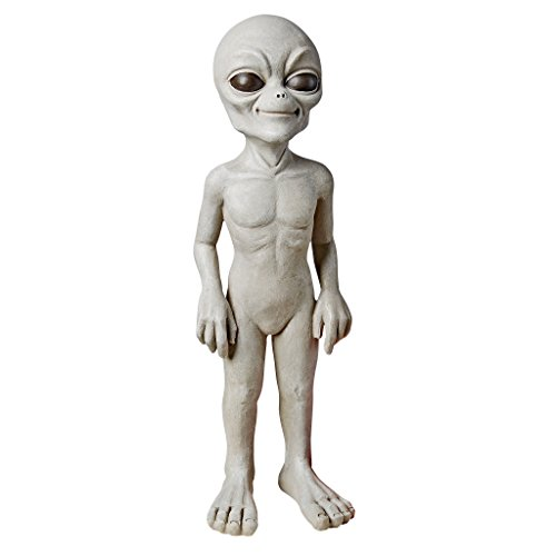 Design Toscano The Out-of-this-World Alien Extra Terrestrial Statue: Small - Extra Small Design