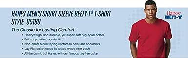 Hanes Mens Short Sleeve Beefy-t