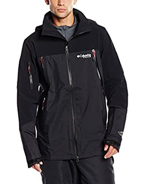 Men's A Basin RipperTitanium Shell Jacket, Black, Small