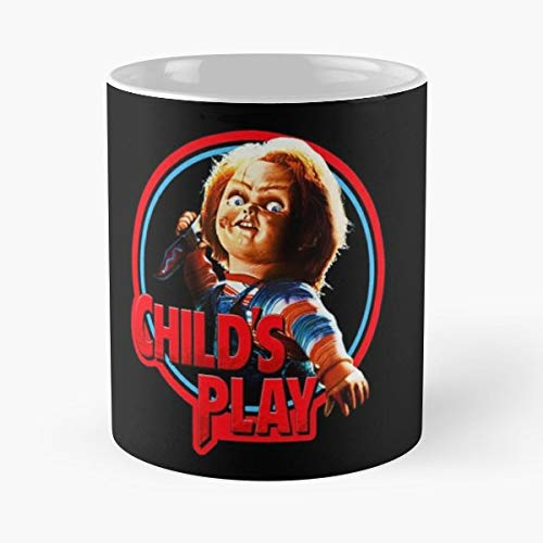 Chucky Horror Film Terror 11 Oz Coffee Mugs Best Gift For Father Day]()