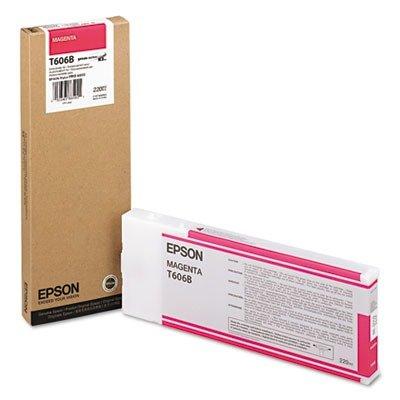 Epson UltraChrome K3 Ink Cartridge - 220ml Magenta (T606B00)