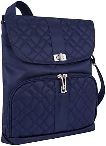 Travelon Anti-Theft Flap-Front Cross-body Bag