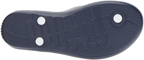 FitFlop Mens iQushion Ergonomic Flip-Flops Blue (Midnight Navy Mix 442)