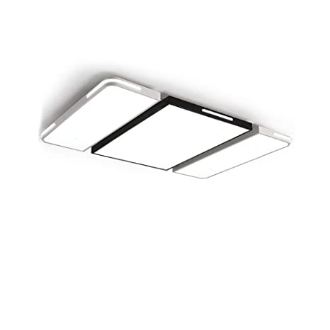 9d57da4962a5 CUICAN Modern Creative LED Ceiling Light,Simple Flush Mount Ultra-Thin Eye  Protection Rectangular