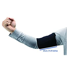 ObboMed MB-1850M Upper Arm Support Brace, Elbow Sleeve with Magnets. Support for Tennis and Golfer's Elbow, Workouts…