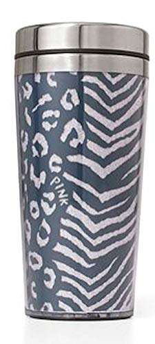 Victoria Secret PINK Coffee Tumbler mug 13.5oz, Gray - Tumbler Secret Victoria Pink