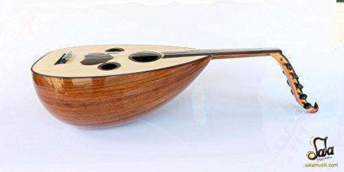 Arabic Handmade Walnut String Instrument Oud Ud AAO-107 by SALA