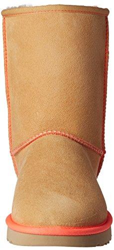 Classic Grey UGG Australia Cammello Frozen Women's Arancione Neon Short Ankle Boots xEO6wO8