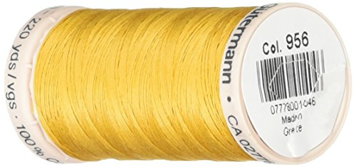 Gutermann Quilting Thread 220 Yards-Old Gold (24692) ()