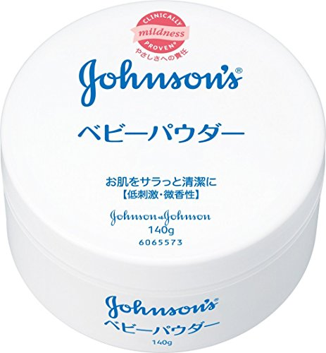 Johnson baby powder plastic container 140g