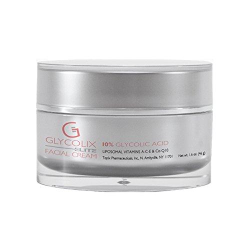 Topix Pharm Glycolix Elite Facial Cream, 10 Percent, 1.6 Fluid Ounce - Glycolix Elite Facial Cream