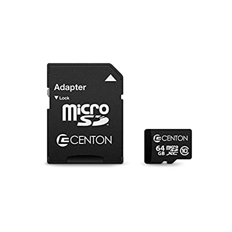 Centon Electronics MP Essential 64GB Class 10 Micro SDXC Card (S1-MSDXC10-64G)