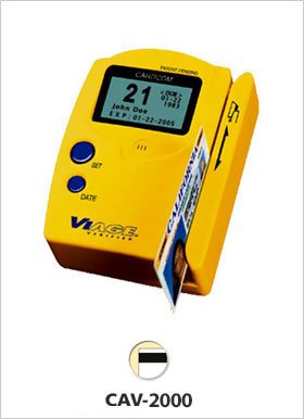 CARDCOM CAV-2000 Hand-Held I.D. Verifier w/ MSR, Graphic LCD Display, by Cardcom / Viage