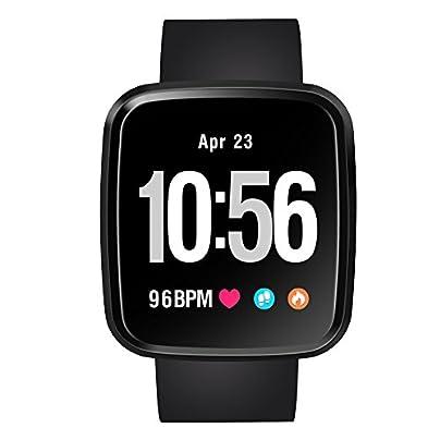 Festnight Smart Watch Color Screen Fitness Tracker Blood Pressure Heart Rate Monitor Sports Smart Bracelet Waterproof Smart Wristband Estimated Price £28.99 -