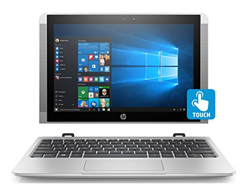 HP 10-p018wm Detachable Laptop, 10.1 IPS Touch Display, Windows 10 Home, Intel Atom x5-Z8350 Processor, 4GB Memory, 64GB eMMC Storage, 802.11 Wirless AC, HP Active Pen