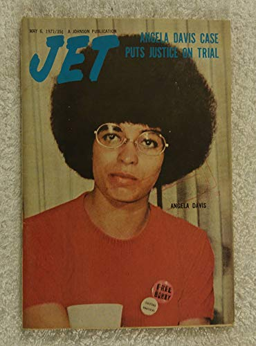 Angela Davis Case Puts Justice on Trial - Jet Magazine - May 6, 1971 - Black Panther, Communist, Political Activist