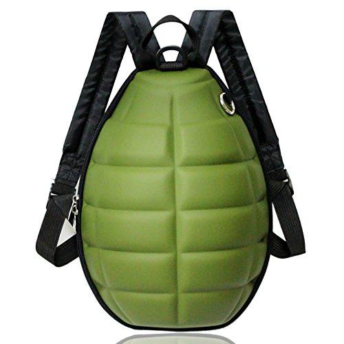 Zahara Waterproof Turtle Shell 3D Grenade Bomb Preschool Bag Children Toddler Kids Backpack for Boys Girls ()
