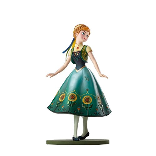 Enesco Disney Showcase Anna as Seen in Frozen Fever Stone Resin - Disney Accessories Couture