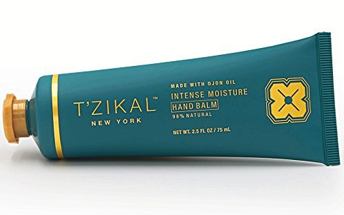 T'zikal's Intense Moisture Hand Balm with Ojon Oil-Natural Hand Balm and Hand Therapy Cream for Best Hand Repair-Dry Cracked Hand Repair-Cracked Hand Relief - Hand Cream for Women-Paraben Free Lotion by T'zikal