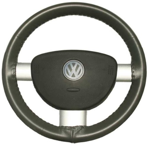 Wheelskins Honda Accord (Wheelskins Honda Genuine Leather Charcoal Steering Wheel Cover-Size C)