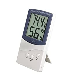 Hrph Digital Lcd Indoor/Outdoor Thermometer Hygrometer Accurate Temperature Meter