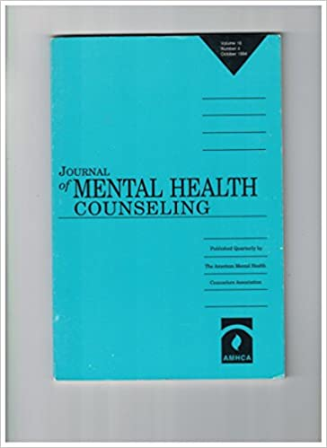 Journal Of Mental Health Counseling Volume 16 Number 1 January