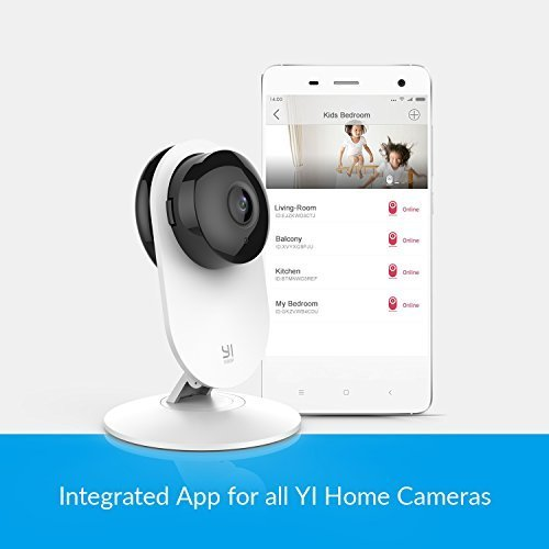 YI 1080p Home Camera, Indoor IP Security Surveillance System with Night Vision for Home/Office/Baby/Nanny/Pet Monitor with iOS, Android App - Cloud Service Available by YI (Image #9)