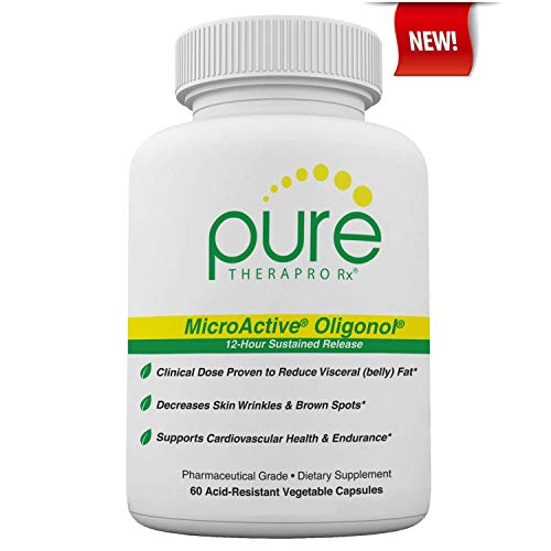 """412d9sKL3sL - MicroActive Oligonol """"Sustained Release"""" 60 Veg Caps 